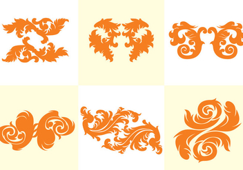 Acanthus Vector - Free vector #366789