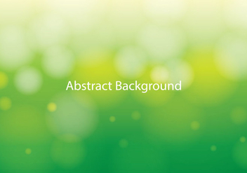 Abstract Bokeh Background - vector #367009 gratis