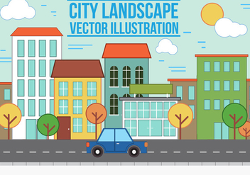 Free vector City Landscape - бесплатный vector #367269