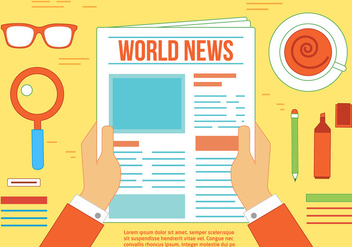 Free News Vector - Free vector #367299