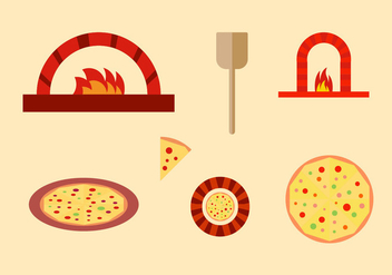 Free Pizza Vector Pack - Kostenloses vector #367409