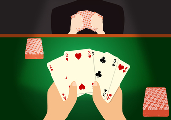 Poker Game Vector - vector gratuit #367479