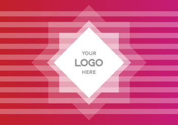 Free Pink Gradient Logo Vector Background - Free vector #367539