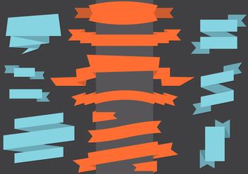 Vector Ribbons - vector gratuit #367549