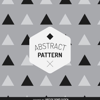 Geometric triangle pattern - vector gratuit #367919