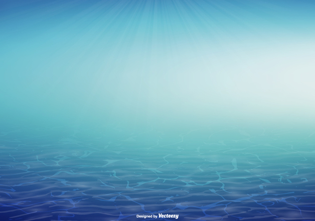 Underwater Vector Background Illustration - Kostenloses vector #367969