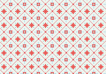 Tile Floral Pattern - Kostenloses vector #368119