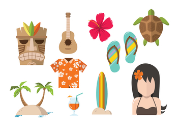 Free Hawaii Vectors - бесплатный vector #368249