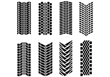 Tire Marks Vector Pack - бесплатный vector #368469