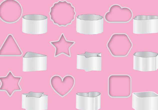 Cookie Cutters - Kostenloses vector #368889