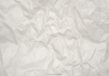 Wrinkled Vector Paper Background - бесплатный vector #368909