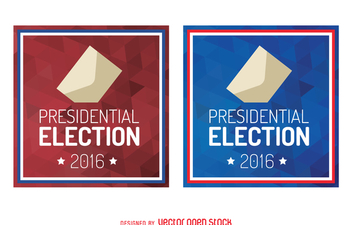 2016 presidential election sign - Kostenloses vector #369189