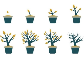 Free Grow Up Plant Vector - Free vector #369269