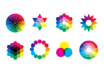 COLOR SWATCHES VECTOR - Free vector #369289