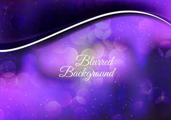 Free Vector Colorful Blurred Background - бесплатный vector #369299