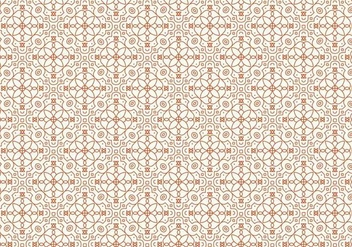Decorative Outlined Pattern - vector #369309 gratis
