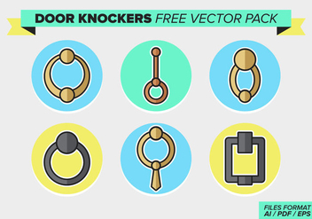 Door Knockers Free Vector Pack - vector gratuit #369429