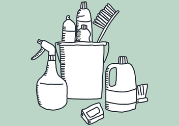 Vector Elements for Cleaning - Kostenloses vector #369459
