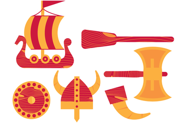 Vector Viking Ship - бесплатный vector #369639
