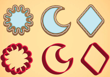 Cookie Cutter Vector Set C - Kostenloses vector #369649