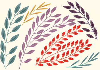 Vector Branches Set - Free vector #369769