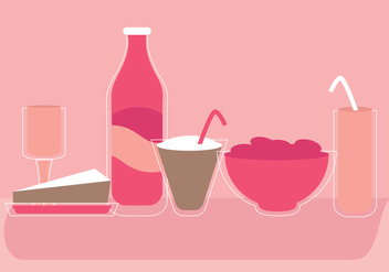 Vector Drinks Set - vector #369799 gratis