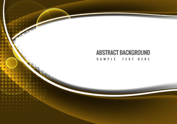 Free Vector Abstract Wavy Background - бесплатный vector #369939