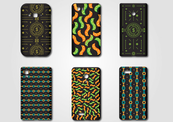 Nice Phone Case Vectors - Free vector #370099