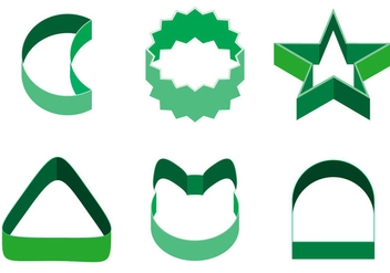 Cookie Cutter Vector - бесплатный vector #370109