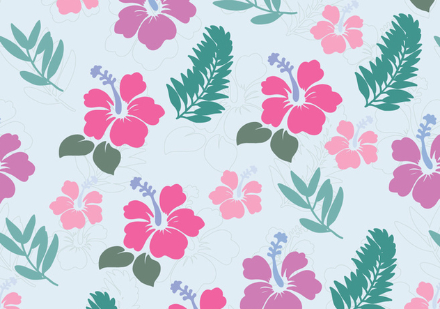 Flowers from Hawaii - vector #370159 gratis