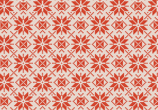 Traditional Rustic Pattern - vector gratuit #370319