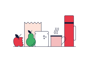 Free Lunch Vector - Free vector #370379