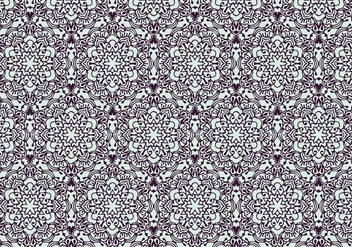 Decorative Floral Pattern - vector gratuit #370519