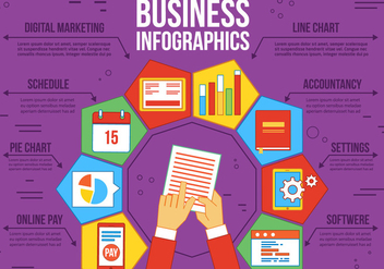 Free Business Vector Infographics - vector gratuit #370569