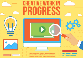 Free Creative Work Vector - бесплатный vector #370809
