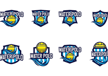 Free Water Polo Vector - Free vector #370859