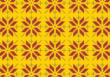 Vector Songket Pattern - Free vector #370869