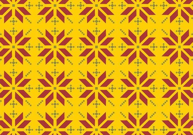 Vector Songket Pattern - vector #370869 gratis