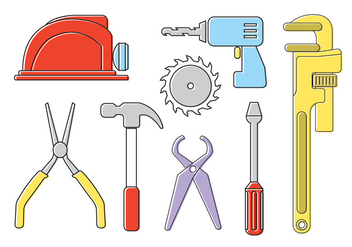 Vector Tools Set - Kostenloses vector #370999