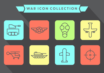 Free War Icons - vector gratuit #371039
