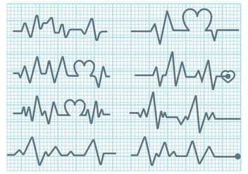 Heart Monitor Vector - Free vector #371119