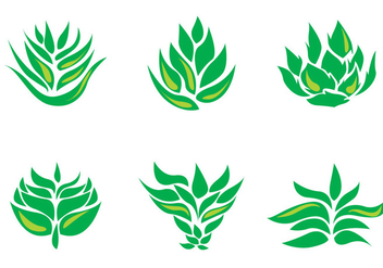 Maguey Vector Icons - Free vector #371149