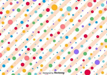 Polka Dots Vector Pattern - бесплатный vector #371399