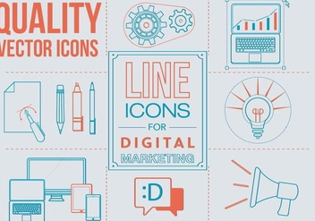 Free Linear Art Vector Icons - Free vector #371619