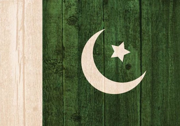 Free Vector Flag Of Pakistan Painted On Wooden Background - vector gratuit #371829