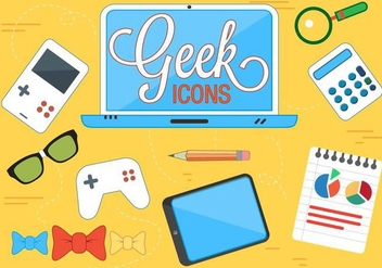 Free Geek Vector Icons - бесплатный vector #371889
