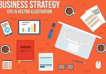 Free Business Strategy Vector - Kostenloses vector #371939