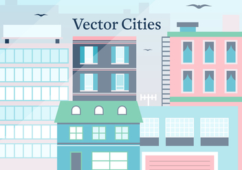 Free City Vector Illustration - бесплатный vector #372079