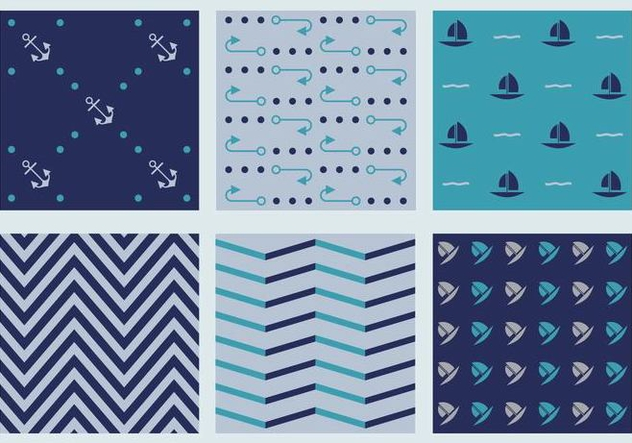 Free Marine Vector Patterns 4 - vector #372089 gratis