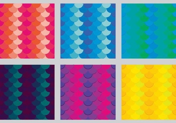 Free Fish Scales Vector Pattern 4 - Free vector #372139